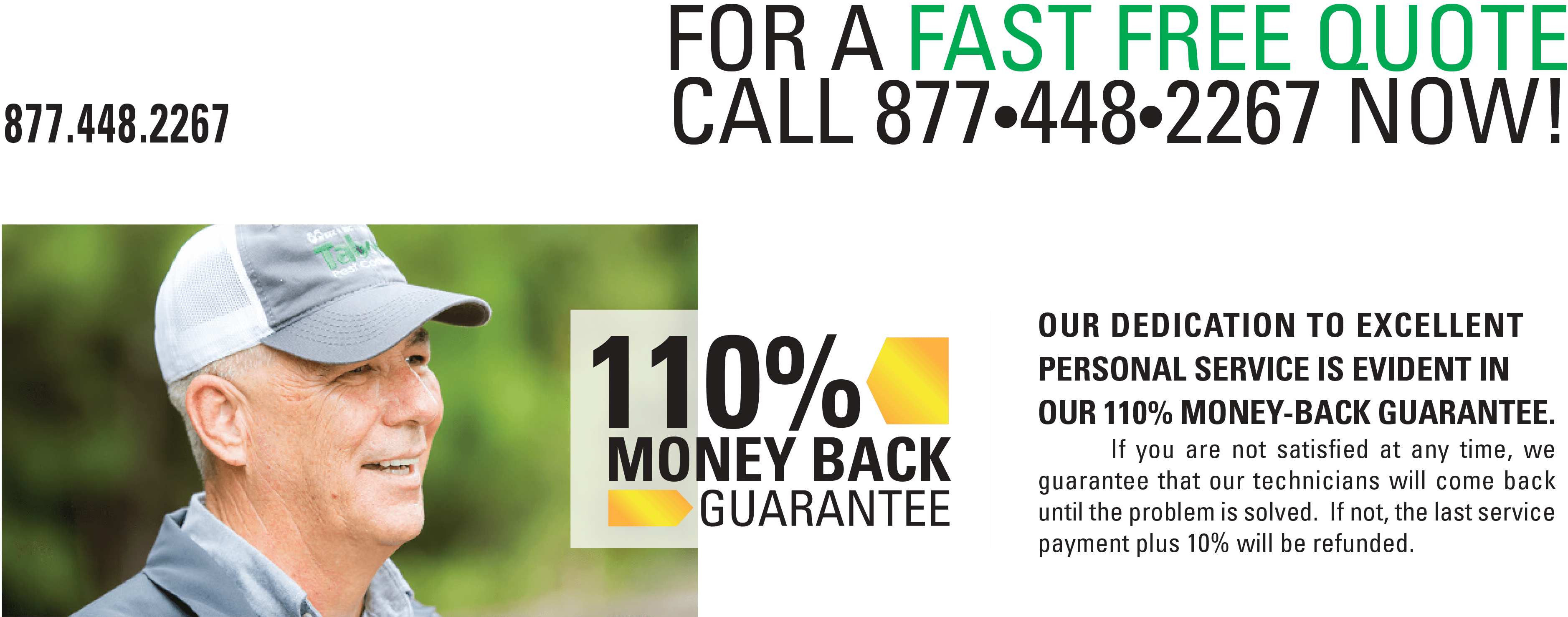 Get A Free Pest Control Quote